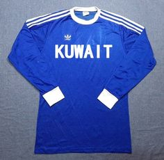 Kuwait Soccer Jersey Football Shirt Maillot Trikot L Retro Football Shirts, Soccer, Trending Outfits, Sweatshirts, Sweaters, Mens Tops, Etsy, Fashion, Unitards
