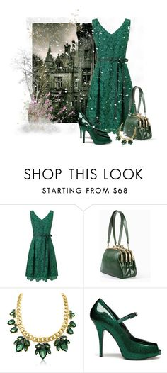 """""""Wuthering Heights"""" by leptismagna ❤ liked on Polyvore featuring Phase Eight, Tammy & Benjamin, Mulberry, drama, lacedress and READ"""