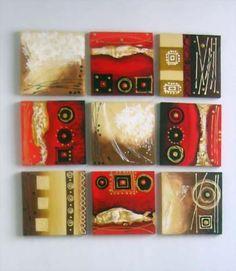 Diy Canvas Art, Acrylic Canvas, Abstract Canvas, Mini Paintings, Easy Paintings, Abstract Paintings, Contemporary Abstract Art, Modern Art, Glue Art