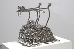 """""""The Reaganomic Youth"""" by Joel Morrison. Stainless Steel"""