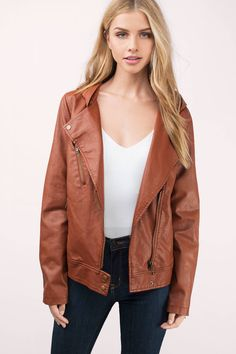 Designed by Tobi. Layer up with the Kayliegh Hooded Moto Jacket. Pair with jeans and boots. - Fast & Free Shipping For Orders over $50 - Free Returns within 30 days!