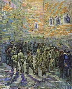 Vincent Van Gogh - Prisoner's Exercising (After Dore) Art Print. Explore our collection of Vincent Van Gogh fine art prints, giclees, posters and hand crafted canvas products Art Van, Oil On Canvas, Canvas Prints, Art Prints, Canvas Art, Canvas Paintings, Van Gogh Arte, Van Gogh Pinturas, Vincent Willem Van Gogh