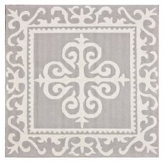 Check out this item at One Kings Lane! 6'x6' Jo Rug, Gray