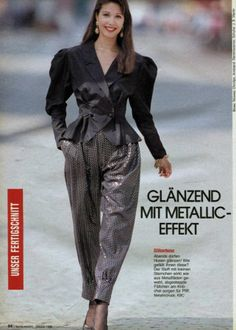 31 Best Fashion Magazine, Source by gzmkucukdesign Fashion outfits 80s And 90s Fashion, Retro Fashion, Vintage Fashion, 80 Fashion Trends, Unique Fashion, Fashion Looks, Mode Glamour, Power Dressing, Preppy Outfits