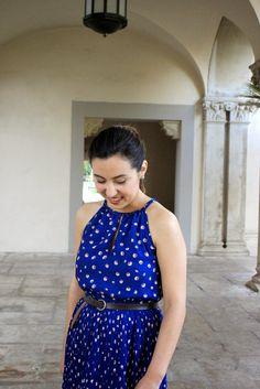 Royal Blue Maison Jules Dress