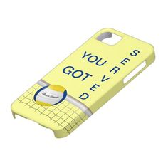 YOU GOT SERVED -  VOLLEYBALL iPhone 5 Case