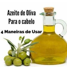 Saiba como usar o azeite de oliva extra virgem no cabelo, 4 melhores maneiras de usar para cada finalidade, passo a passo