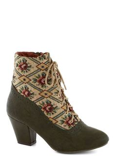 From the Same Cloth Boot in Forest