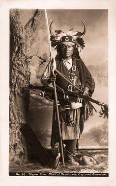 Apache Mescalero Chief Peso - Chief of Scouts