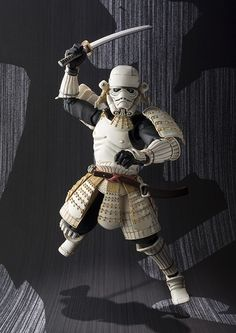 "Crunchyroll - Bandai Previews ""Star Wars - Movie Realization"" Samurai Stormtrooper Figure"