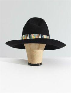 Visvim Laureate Hat Mayan- Navy