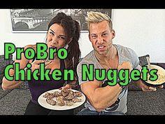 Gesündeste ChickenNuggets der Welt mit Anja Zeidler - YouTube