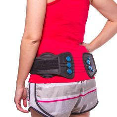 Low Profile Sacroiliac Joint Belt-- This lower back sacral belt helps to provide stabilization & pain relief for the sacroiliac joints. This is a conservative treatment of SI strain or arthritis. | BraceAbility