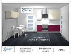 Nuevos diseños de muebles de cocinas para las viviendas nuevas de los jóvenes de Tres cantos. Acordaros que estamos en promoción con un descuento del 35% de descuento en nuestras cocinas y de regalo un grifo de cocina con el lote completo. Aprovéchate!!  www.exclusivasjoma.es