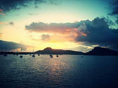 #Boat #Trip #Sunset #Curaçao