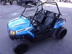 New 2017 Polaris RZR 170 EFI VooDoo Blue ATVs For Sale in Oregon. 2017 Polaris RZR 170 EFI VooDoo Blue, 2017 Polaris® RZR® 170 EFI VooDoo Blue Includes safety flag, helmet and instructional DVD Parent-adjustable speed limiter Electronic fuel injected (EFI) 169 cc engine Features may include: YOUTH ALL NEW! Colors & Graphics Check out the All NEW! Colors on Outlaw, Sportsman®, and Phoenix Electronic fuel injected (EFI) 169 cc engine EFI for consistent starting, improved idle quality, and a…
