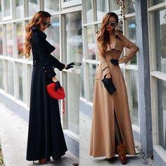 2015 printemps et en automne dernière mode revers un bouton supplémentaire veste manteau Long sexy Slim passer la serpillière laine manteau femmes manteau dans Laine et mélanges de Accessoires et vêtements pour femmes sur AliExpress.com | Alibaba Group