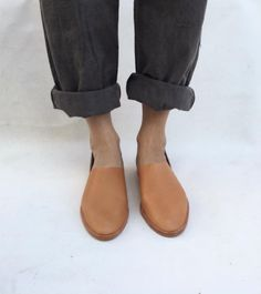 Combining artisan techniques and modern styling, these leather slip-ons from Osborn are an effortless match for both dressed up and dressed down looks.Details: Leather upperandsole.All leathers are minimally processed and all the cows' scars, scrapes and imperfections are preserved. To protect...