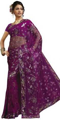 A sari or saree is the traditional female garment in India.A sari is a strip of unstitched cloth,the dazzling fabrics, colors, patterns, and. Sari Wedding Dresses, Wedding Sari, India Fashion, Asian Fashion, Indian Dresses, Indian Outfits, Sari Dress, Sari Fabric, Dressed To Kill