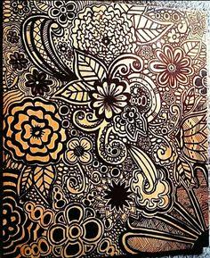 My Doodle. 😍 Mandala Style