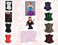 Are you worry about your belly after delivery? Our Organic Waist Training Corset can help you. Our Organic Waist Training Corsets are composed of 3-5 layers of fabric, 14-24 and more spiral stainless steel bones, 6-8 inches modesty panel and top-quality accessories. Our main difference among others is that we use 100% organic cotton lining that offers several health benefits. www.organiccorsetusacom