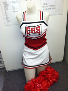 Authentic Cheerleading Uniform-Great for Halloween Costume  Complete Uniform $25.00  Various Sizes Available