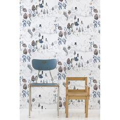 www.binnenpretwonen.nl wallpaper ferm Living