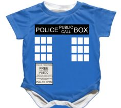 Hey, I found this really awesome Etsy listing at http://www.etsy.com/listing/154623506/doctor-who-tardis-baby-onesie-whovians