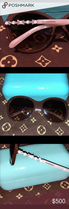 946dddf05388 Channel and Tiffany sunglasses -showing Here s both sunnies I have.  Accessories Sunglasses Tiffany Sunglasses