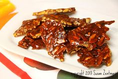 Love from the Kitchen: Ghost Pepper Almond Brittle