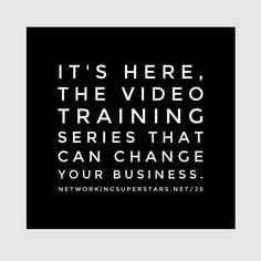 The first of three videos is now live for the No Fear Video Marketing System. Learn new ways to help grow your business and team and add duplication to your network. Gain access at http://ift.tt/20SpWer