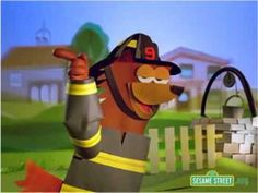 Sesame Street fire safety: Use during Fire Safety week or during a Community Helpers week Community Helpers Preschool, School Community, Community Workers, Kindergarten Social Studies, In Kindergarten, Colegio Ideas, Fire Safety Week, Fire Prevention Week, School Themes