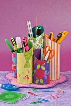 Manualidades: Porta lápices ~ EBI México