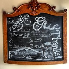 So here's how my chalk calligraphy turned out--not bad for a 1st try! Extragram