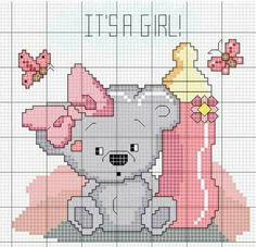 1 million+ Stunning Free Images to Use Anywhere Baby Cross Stitch Patterns, Free Cross Stitch Charts, Cross Stitch For Kids, Cute Cross Stitch, Cross Stitch Animals, Cross Stitch Designs, Cross Stitching, Cross Stitch Embroidery, Embroidery Patterns