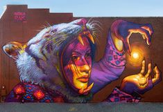 let there be light by nataliarak - Street Art by Natalia Rak <3 <3
