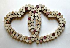 #Utensilios de #cocina:  #salvamanteles con #corchos de #vino  #ecología #reducir #reciclar #reutilizar