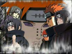 Itachi & Pain favorite characters