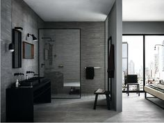 Porcelain stoneware wall/floor tiles MYSTONE PIETRA DI VALS by MARAZZI