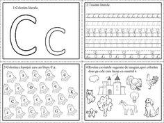 alfabetul fisa de lucru clasa pregatitoare - Căutare Google Letter Activities, Preschool Activities, Homework Sheet, Cursive Writing Worksheets, Diy And Crafts, Bullet Journal, Lettering, Desktop, Printable