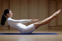 Pilates Exercises to get a flat stomach ;)