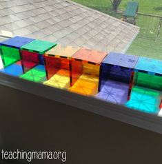 Lots of fun ideas for using Magna-Tiles or other magnetic blocks. These simple ideas will help you get the most out of these high-quality shape tiles. Toddler Fine Motor Activities, Childcare Activities, Lego Activities, Preschool Learning, Steam Activities, Magna Tiles, Magnetic Building Blocks, Early Childhood Activities, Lesson Plans For Toddlers