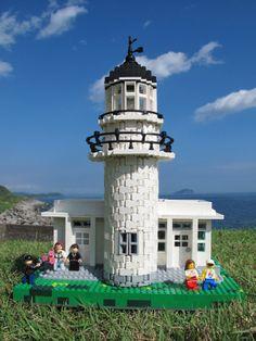 Lego lighthouse.