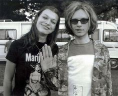 Milla Jovovich and Beck-i miss the 90s