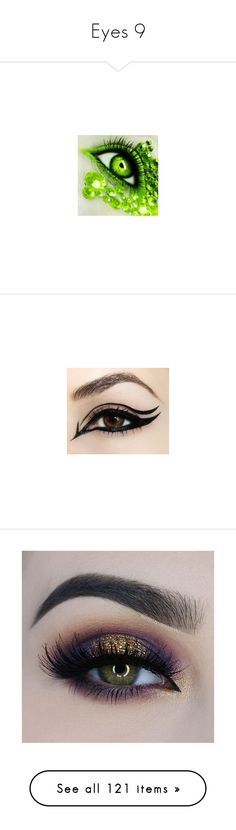"""""""Eyes 9"""" by musicmelody1 ❤ liked on Polyvore featuring jewelry, earrings, eyes, gothic earrings, hoop earrings, gothic jewelry, goth earrings, goth jewelry, beauty products and makeup"""