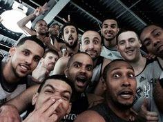San Antonio Spurs selfie