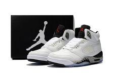b413a41c06da97 Cheap Air Jordan 5 Retro 2018 Kid shoes  White  Black  Kid  Jordan5 WhatsApp  8613328373859