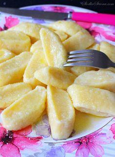 Dumplings Lazy – Recette – Page Douce – coeur Fruit Recipes, Indian Food Recipes, Cooking Recipes, Lunch Snacks, Healthy Snacks, Pierogi Recipe, Exotic Food, Polish Recipes, Ravioli