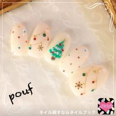 Give fashion to your nails with the help of nail art designs. Used by fashion-forward celebs, these nail designs will add immediate style to your apparel. Holiday Nail Art, Winter Nail Art, Christmas Nail Designs, Nail Designs Spring, Toe Nail Designs, Christmas Nail Art, Winter Nails, Christmas Tree Nails, Summer Nails