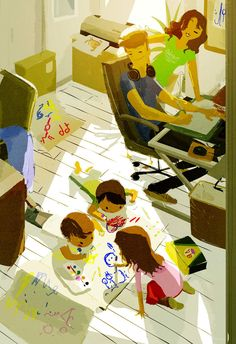 Home Office by ~PascalCampion on deviantART